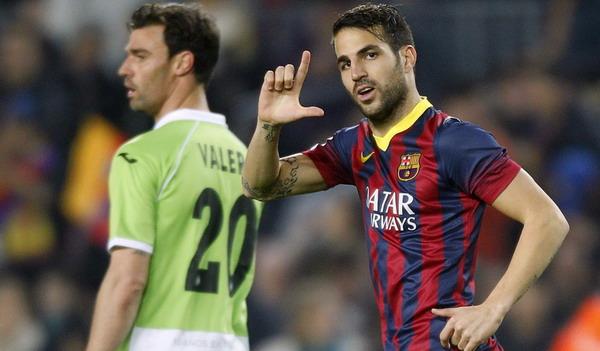 Barca Unggul Melalui Gol Fabregas | Berita Bola