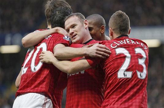 Hadapi Cardiff, Duo Rooney dan Van Persie Siap Main