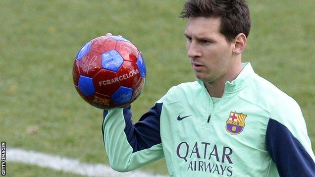 Lionel Messi Siap Bermain Melawan Getafe