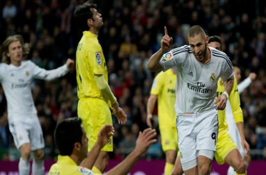 Dwi Gol Benzema Atarkan Madrid Tekuk Villareal | Prediksi Judi Bola
