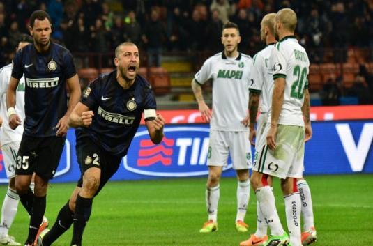 Gol Walter Samuel Antar Inter Tekuk Sassuolo   Pasaran Judi Bola