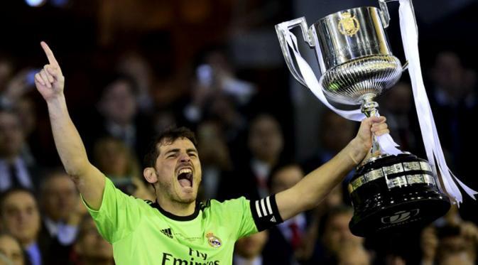 Berita Terbaru:Casillas Sukses Samai Rekor Raul