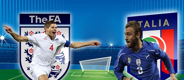 Prediksi England vs Italy 15 Juni 2014