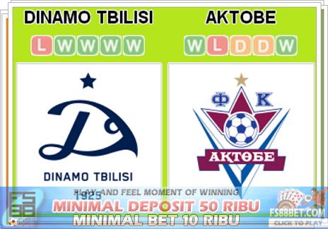 Prediksi Dinamo Tbilisi vs Aktobe 17 Juli 2014
