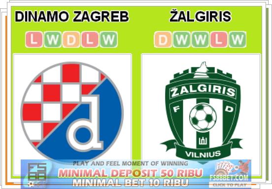 Prediksi Dinamo Zagreb vs Zalgiris Vilnius 16 Juli 2014