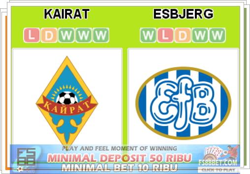 Prediksi Kairat Almaty vs Esbjerg 17 Juli 2014