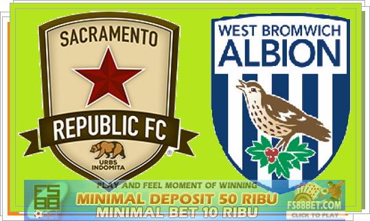Prediksi Sacramento Rep vs West Bromwich 22 Juli 2014