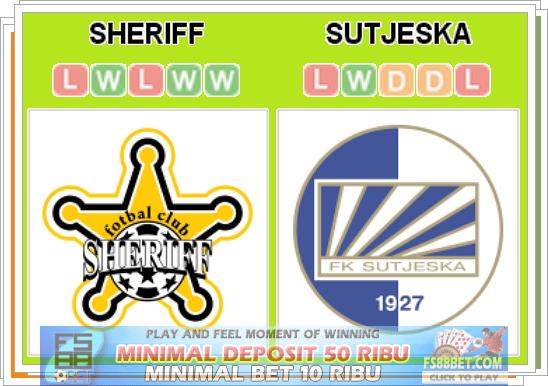 Prediksi Sheriff vs Sutjeska 16 Juli 2014 | Skor Online