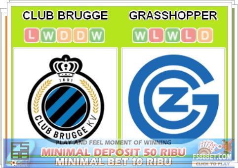 Prediksi Club Brugge vs Grasshoppers - Info Bola Terbaik