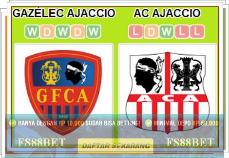 Prediksi GFCO Ajaccio vs Ajaccio - Judi Bola Terbaik