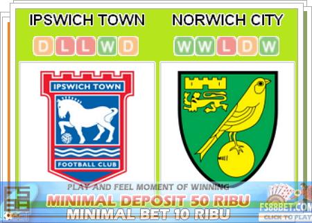 Prediksi Casino Online Ipswich Town vs Norwich City