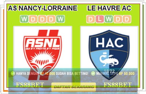 Prediksi Nancy vs Le Havre | Agen Judi Terbesar