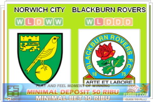 Prediksi Agen Casino Norwich City vs Blackburn Rovers