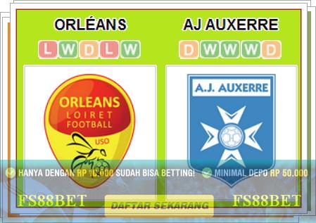 Prediksi Orleans vs Auxerre | Bandar Online Terbesar