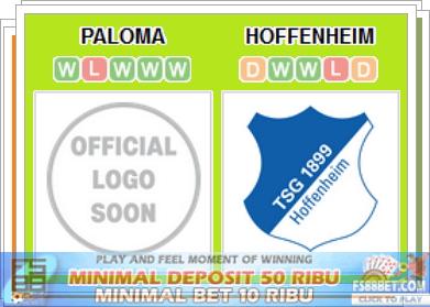 Prediksi Info Bola Terbesar Paloma vs Hoffenheim
