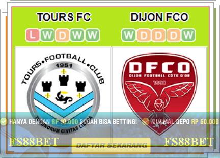 Prediksi Tours vs Dijon | Bola Online Terbesar