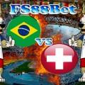 Prediksi Brasil vs Swiss 18 Juni 2018