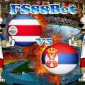 Prediksi Costa Rica vs Serbia 17 Juni 2018