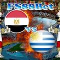 Prediksi Mesir vs Uruguay 15 Juni 2018